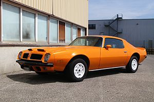 Pontiac Firebird, second generation