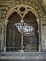 Museo di santa maria novella, chiostro verde, finestra.JPG