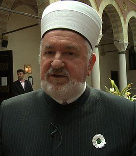 Mustafa Cerić Bosnian-Herzegovinian Imam