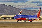 N422WN Southwest Airlines 2002 Boeing 737-7H4 C-N 29826 (8281569204).jpg