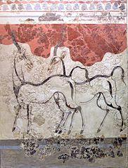 Fresque des Antilopes