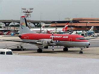 NAMC YS-11 - Phuket Air YS-11A-200 (2005)