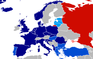 NATO Enhanced Forward Presence - Image: NATO Enhanced Forward Presence participating nations