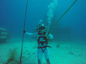 Thomas Pesquet - Pesquet training for NEEMO 18.