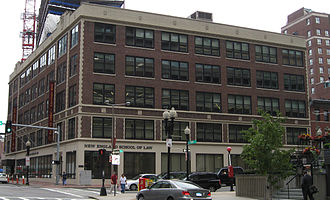 New England Law Boston - Main academic building on Stuart Street