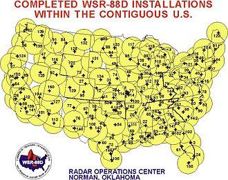 NEXRAD - NEXRAD sites within the Contiguous U.S.