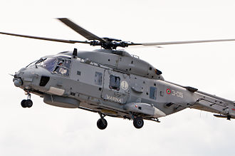 NHIndustries NH90 - Italian Navy NH90 NFH in flight, 2012