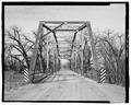 NORTHEAST PORTAL, VIEW TO SOUTHWEST - Merrill Bridge, Spanning Milk River at Snake Creek-Merrill Road, Harlem, Blaine County, MT HAER MT-123-7.tif