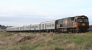 The Overland - The 1999-2007 version of the train