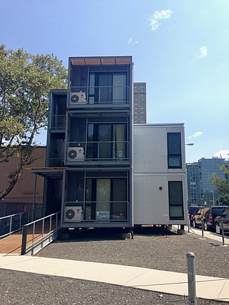 NYC Emergency Management - Modular post-disaster housing units