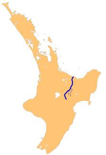 Rangitaiki River river in New Zealand