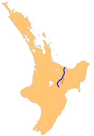 Rangitaiki River - The Rangitaiki River system