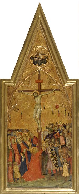 Naddo Ceccarelli - The Crucifixion,The Walters Art Museum