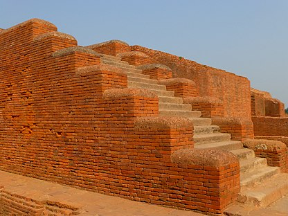 Nalanda - 041 Staircase and Walls (9250720247).jpg