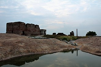 Namakkal Fort - Image of the fort structure