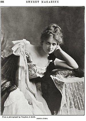 Nance O'Neil - Sunset Magazine, May–October, 1903