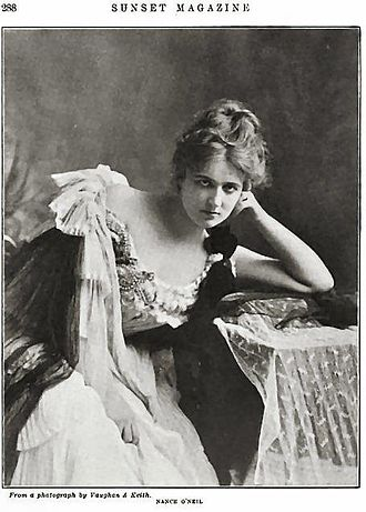 Nance O'Neil - Sunset Magazine, May–October, 1903