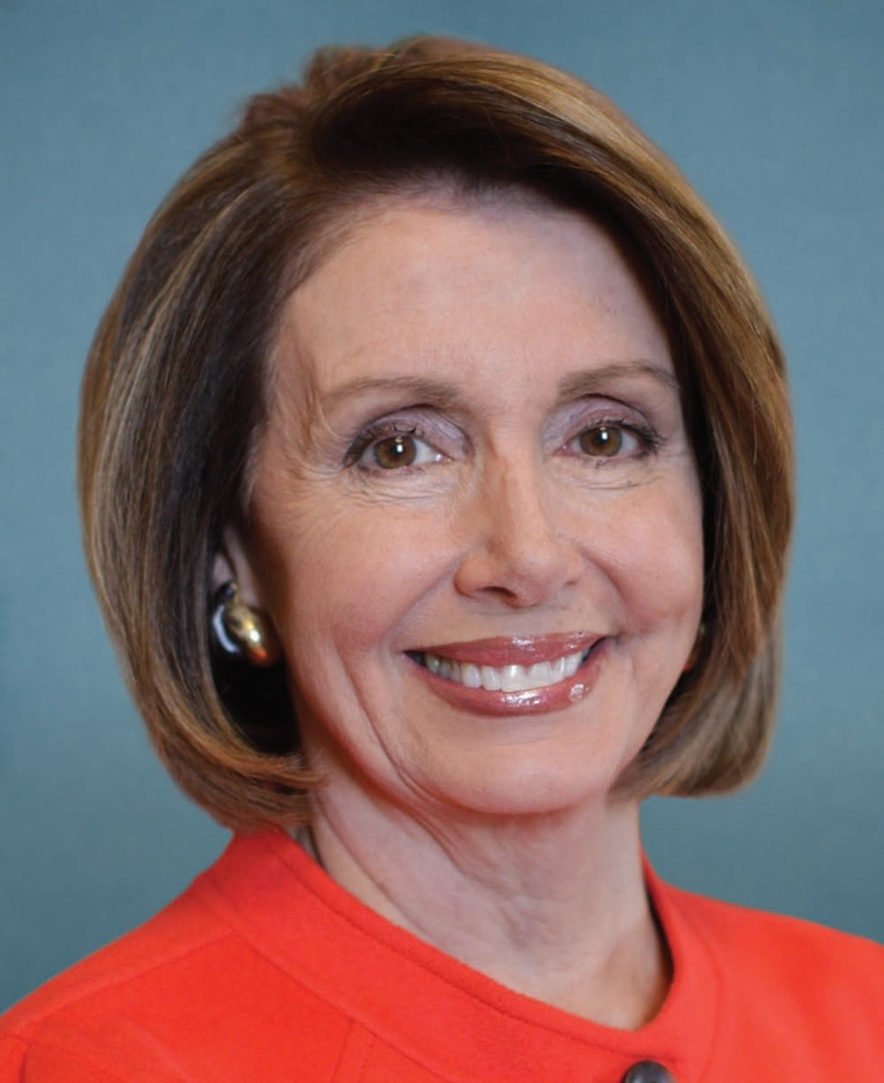 Nancy Pelosi, official photo portrait, 111th Congress
