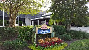 Naples, Florida - The front entrance of Naples City Hall.