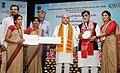 Narendra Singh Tomar conferring the National Awards on the Best Performing Self Help Groups under Deendayal Antayodaya Yojana - National Rural Livelihood Mission (DAY- NRLM), in New Delhi (5).JPG