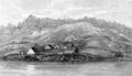 Narrative of a Voyage around the World - Fort George, Astoria.png