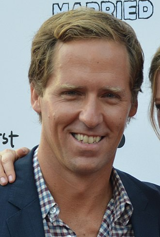 Nat Faxon - Faxon at the series premieres of You're the Worst and Married in July 2014