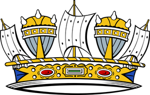 Naval crown - Image: Naval Crown