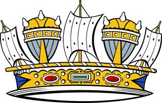 Naval crown - Image: Naval Crown