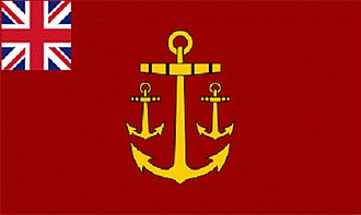 Comptroller of the Navy (Navy Board) - Image: Navy Board Flag 1832 new version