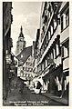 Neckargasse mit Stiftskirche (AK Gebr. Metz um 1930).jpg