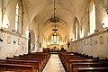 Nef de l'église Saint-Vigor de Soliers. Vue vers l'orient.jpg