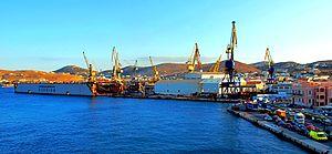 Neorion - Neorion shipyard in 2009