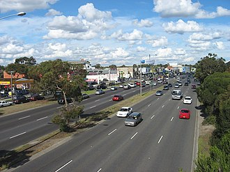 Nepean Highway - Image: Nepeanhwygardenvale