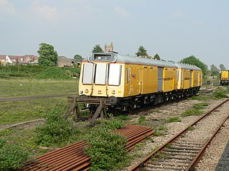 Severn Tunnel - Network Rail tunnel emergency train Class 121s in May 2006
