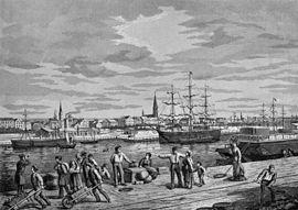 Neuer Hafen - Bremerhaven - 1880.jpg