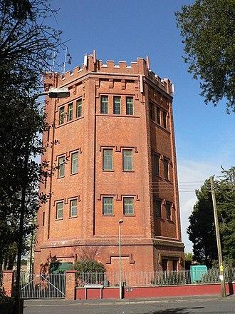 New Milton - New Milton water tower