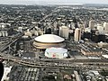 New Orleans from the Air September 2019 - Superdome and Arena.jpg