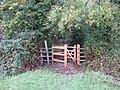 New kissing gate on footpath from South Stoke to North Stoke - geograph.org.uk - 1558915.jpg