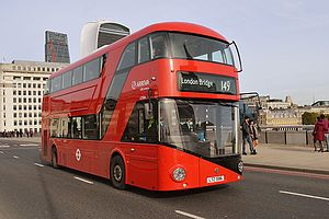 London Buses route 149 - Arriva London New Routemaster on London bus149