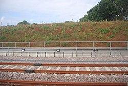 New sidings north of Horsforth Station (geograph 4199528).jpg