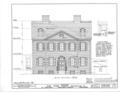 Nicholas Van Dyke Jr. House, 400 Delaware Street, New Castle, New Castle County, DE HABS DEL,2-NEWCA,11- (sheet 3 of 8).png