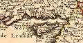 Nicolas Sanson. Estats de l'Empire du Grand Seigneur des Turqs ou Sultan des Ottomans. 1654. Cypre.jpg