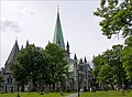 Nidaros Cathedral - Trondheim, Norway - panoramio.jpg