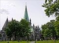 Nidaros Cathedral - Trondheim, Norway - panoramio.jpg