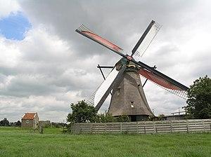 Nieuw-Lekkerland - Image: Nieuw Lekkerland Kleine Molen 6381