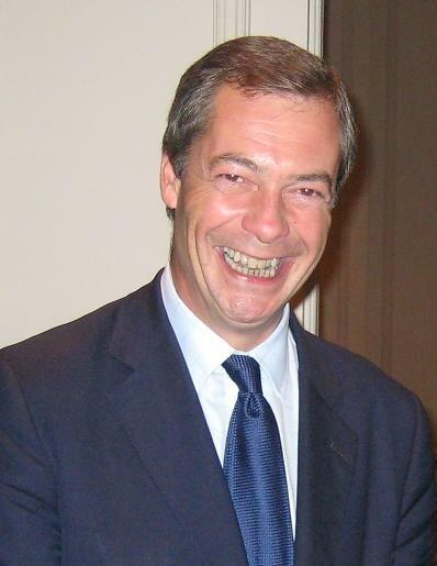 Nigel Farage Autumn 2008