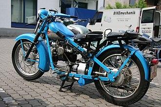 Nimbus (motorcycle) - 1950 Nimbus