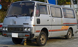 1980 E23 Nissan Caravan