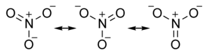Nitrate ion resonance structures.png