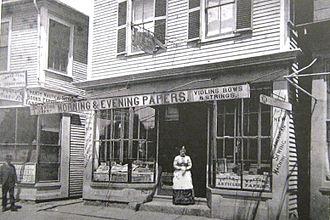 Circulating library - No.82 Main Street, Gloucester, Massachusetts